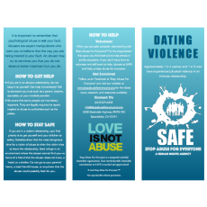 Dating Violence Brochure