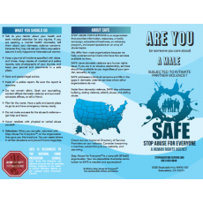 Male Intimate Partner Violence Brochure
